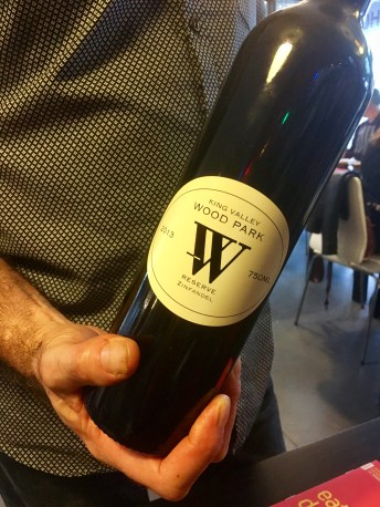 Wood Park Reserve Zinfandel 2013 (King Valley) - Balinese 'Market Tour to Plate', Spice Bazaar