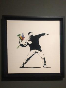"""Wage Peace"" - Banksy"