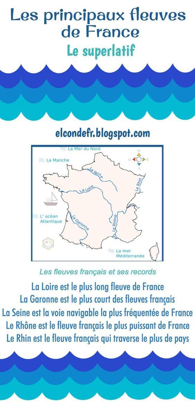 Quel Est Le Plus Long Fleuve Européen? : fleuve, européen?, Principaux, Fleuves, France, Bonjour, élèves!