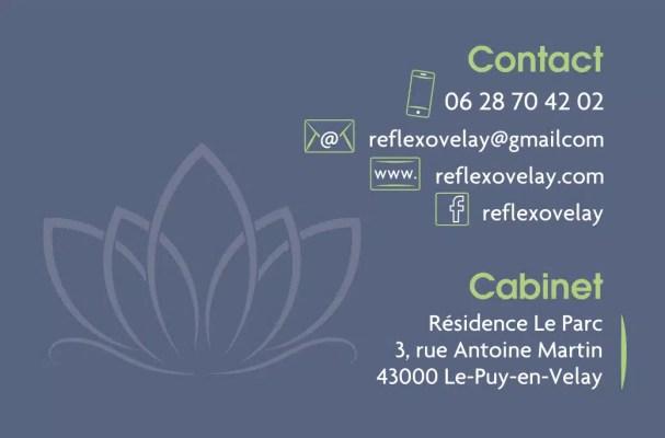 Contact Marilyne Chaurandréflexologie globale
