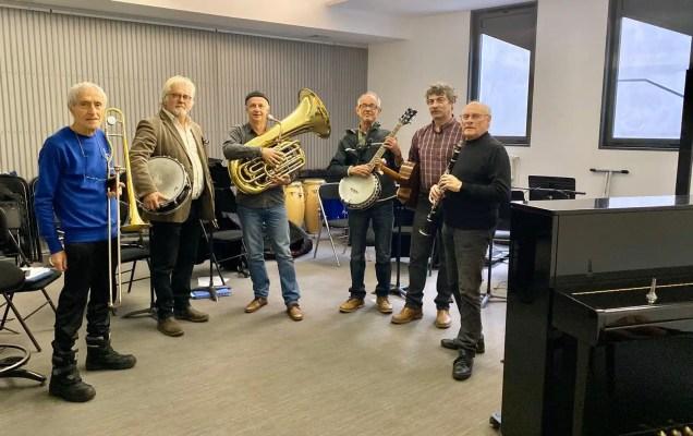 Happy Hot Jazz Quintet pour le programme So jazzy de Jazz en Velay