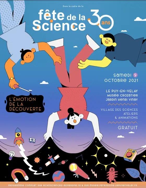 affiche fête science 2021