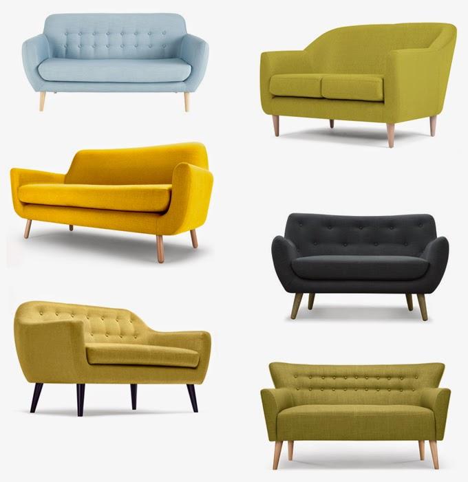 s lection de jolis canap s design petits prix. Black Bedroom Furniture Sets. Home Design Ideas