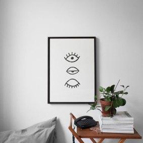 Affiche yeux