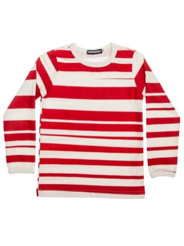 t-shirt-stripe-raye-rouge-manches-longues