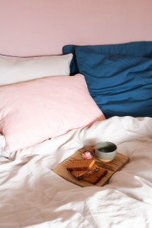 Parure de lit fabriqué en France dans le Nord Brume