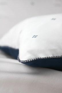 Parure de lit fabriqué en France dans le Nord Carreaux des Flandres