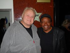Louie Anderson and Little Anthony (from the Imperials)