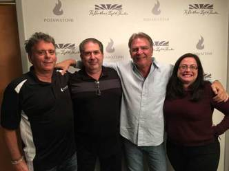 Bill Engvall, Joe Sanfelippo, Bob Rech, Margaret Sanfelippo