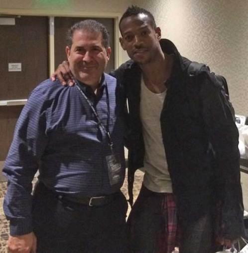 Joe Sanfelippo and Marlon Wayans