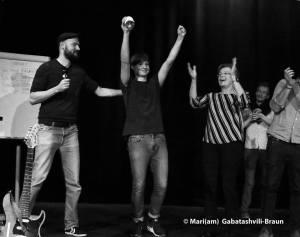 """""""Du bist wie der Mond – alt und fett"""" – Poetry Slam im Pantheon"""