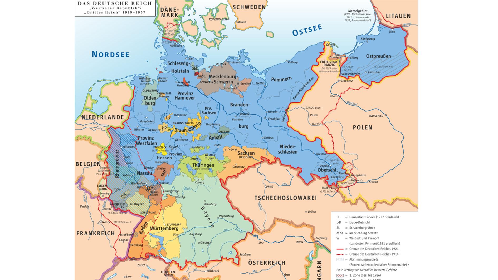 Die Weimarer Republik wird 100!