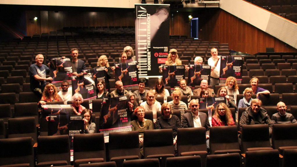 13. Bonner Theaternacht Ende Mai