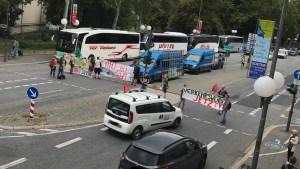 Verkehrsblockade für das Klima