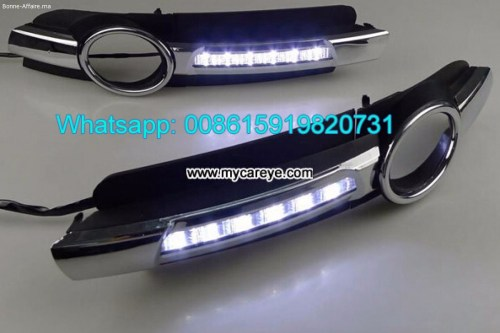 small resolution of audi a6 drl led daytime running light led driving lights