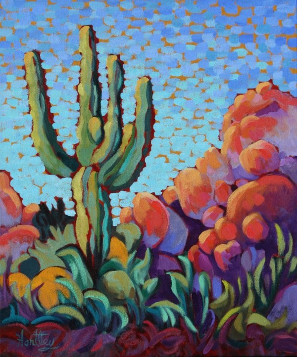 Cactus Painting Watercolor Art