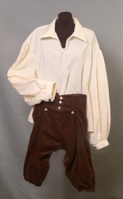 mens 18th century shirt