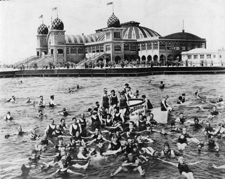 Saltair resort circa 1920 (source unknown)