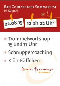 BonnFemmes Sommerfest Plakat