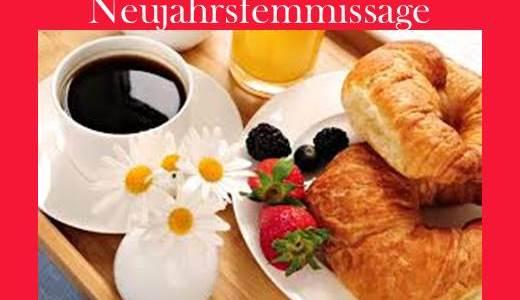 Neujahrsfrühstück am 4.1.