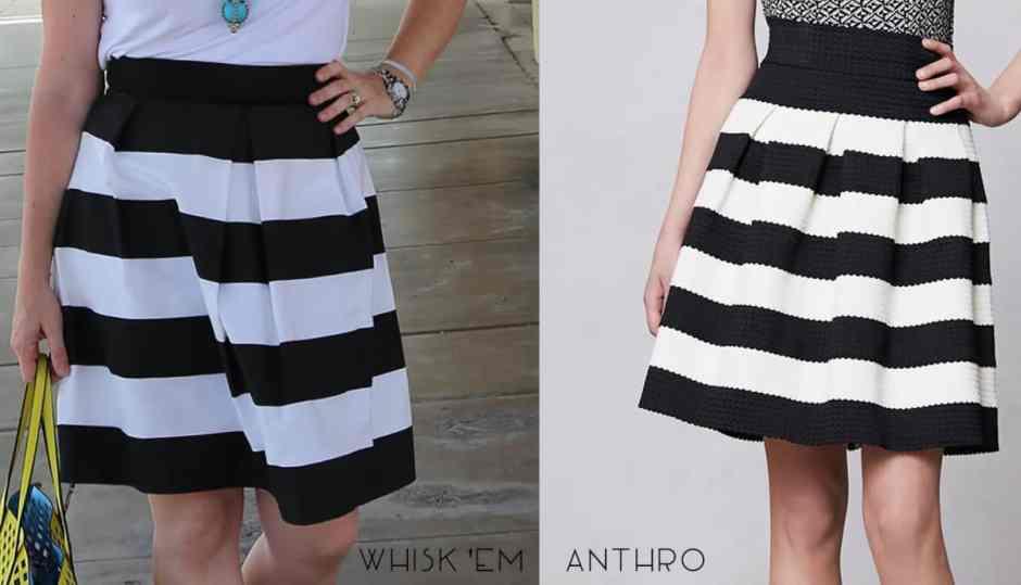 Bell skirt sewing tutorial