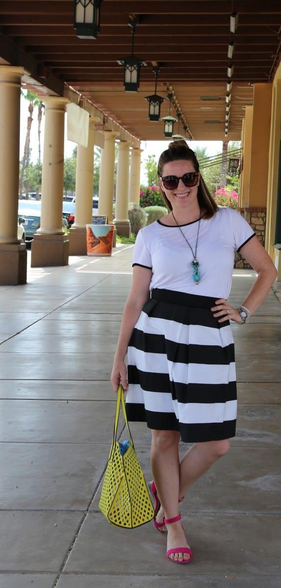 Women's bell skirt pattern