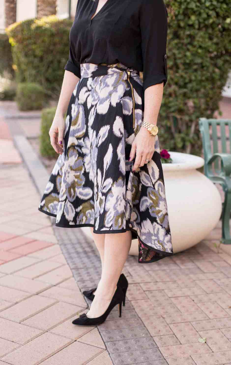 floral-hi-lo-circle-skirt-tutorial