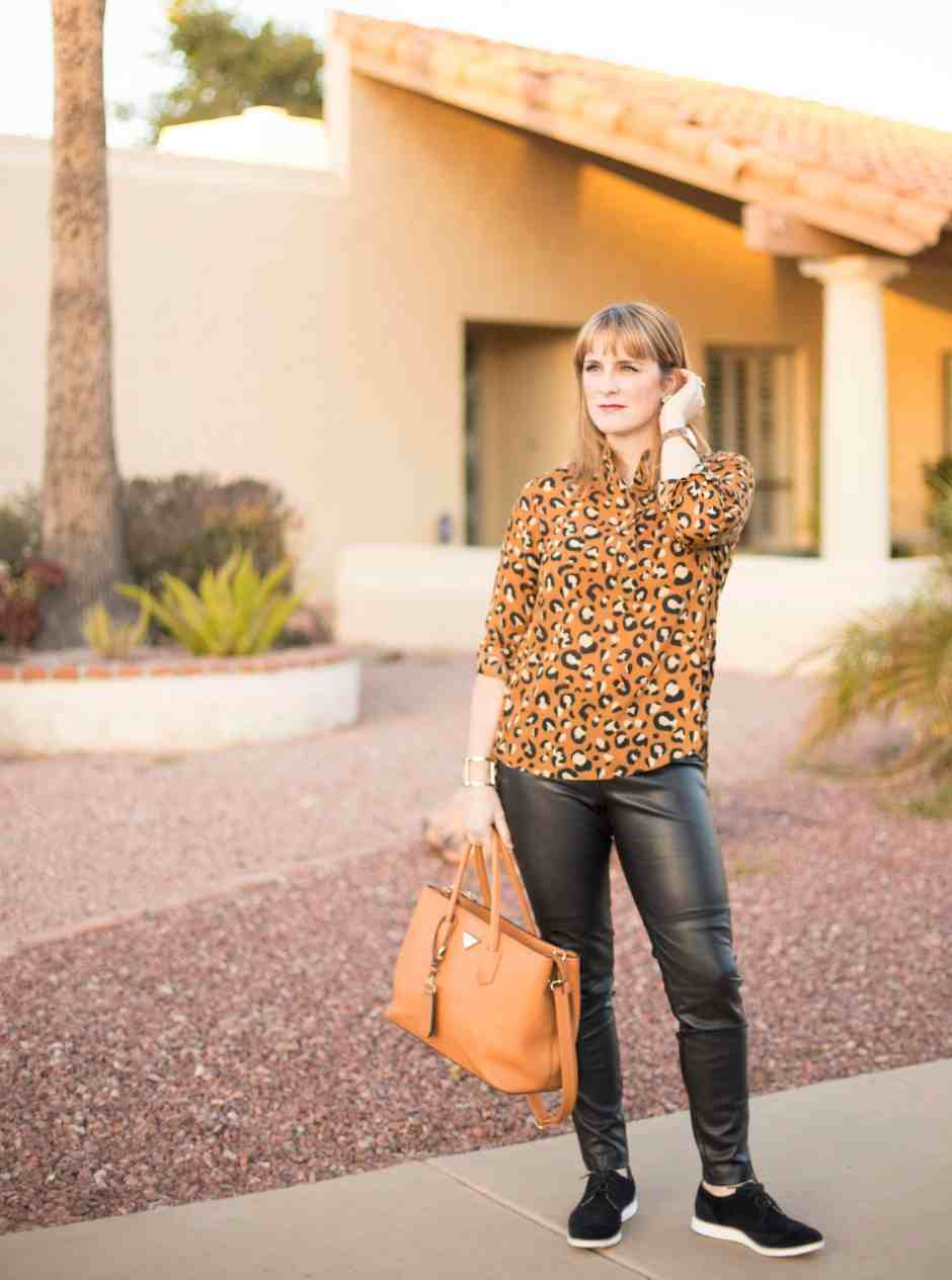 leopard-casual-look