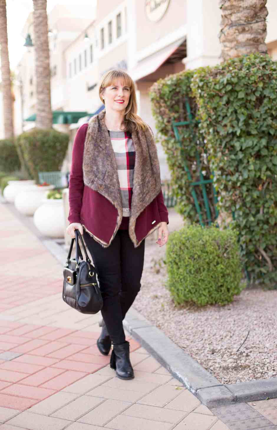 plaid-spring-fashion-skinnies-booties