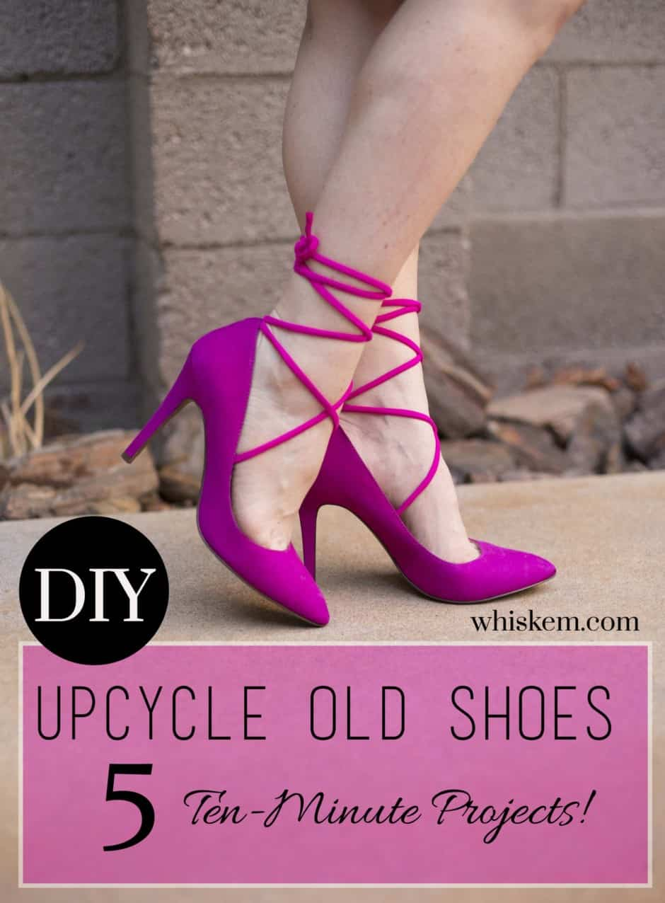 DIY-shoes-magenta-lace-ups-graphic
