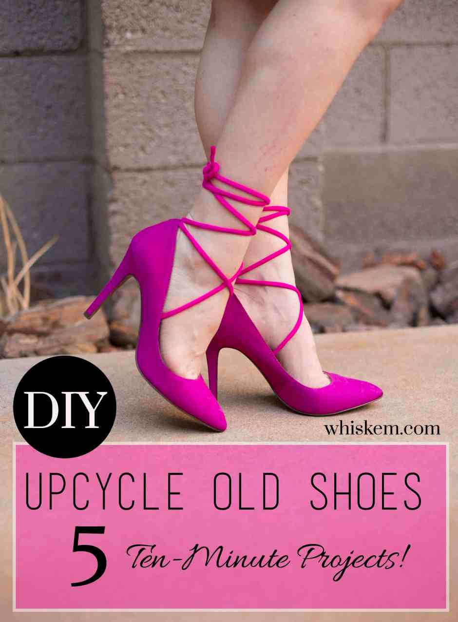 DIY-shoes-magenta-lace-ups-graphic