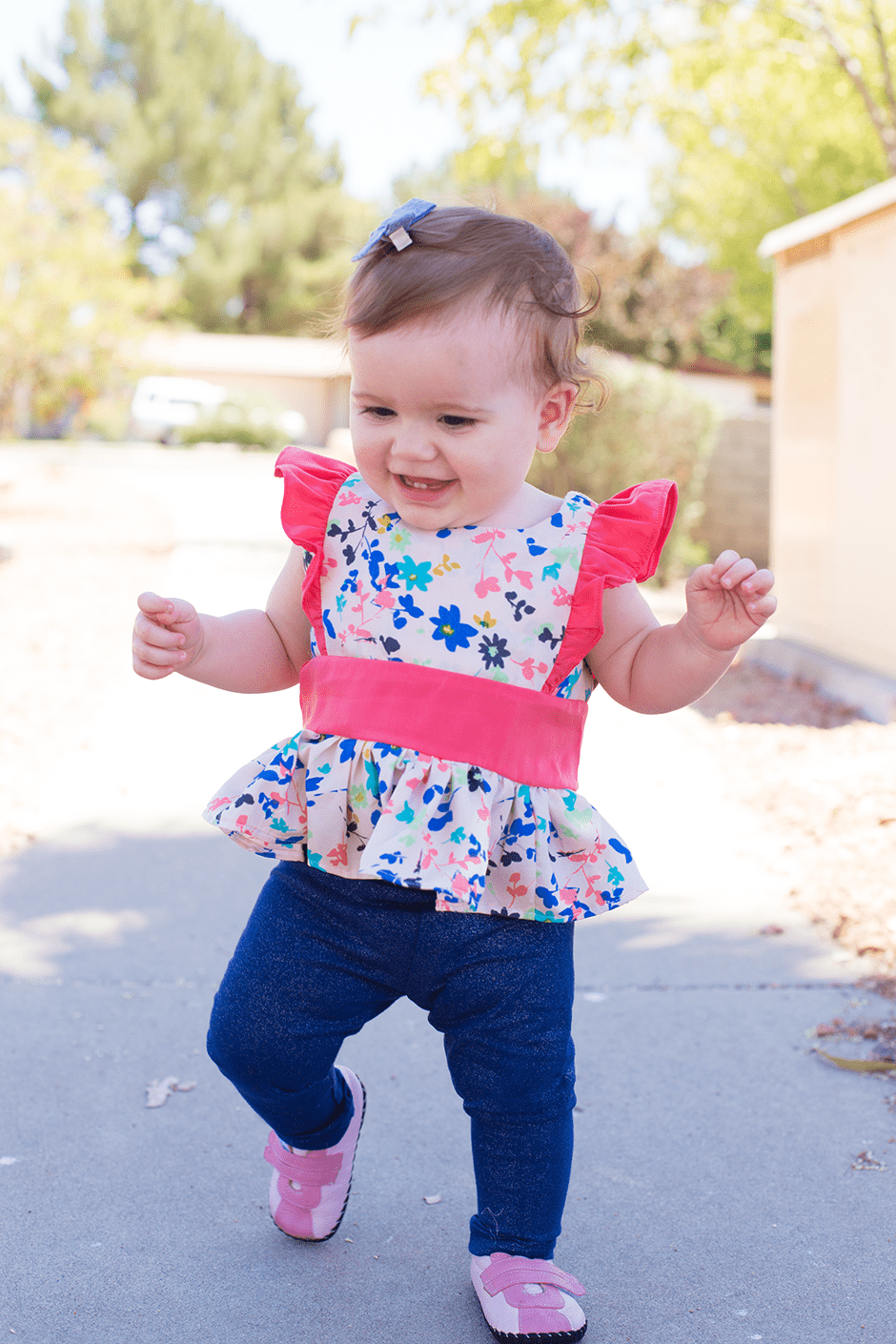 A-line-ruffled-baby-top