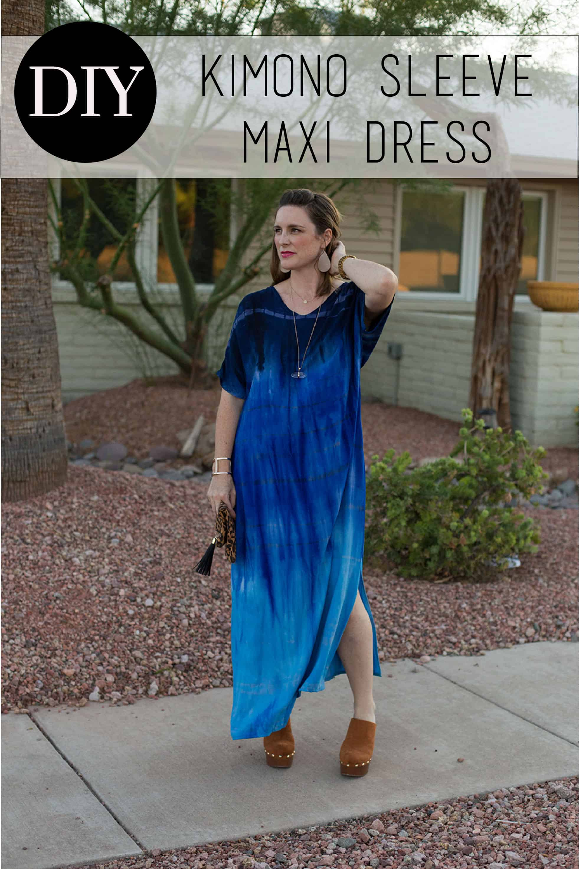 Diy kimono sleeve maxi dress bonnie and blithe diy kimono sleeve maxi dress jeuxipadfo Images