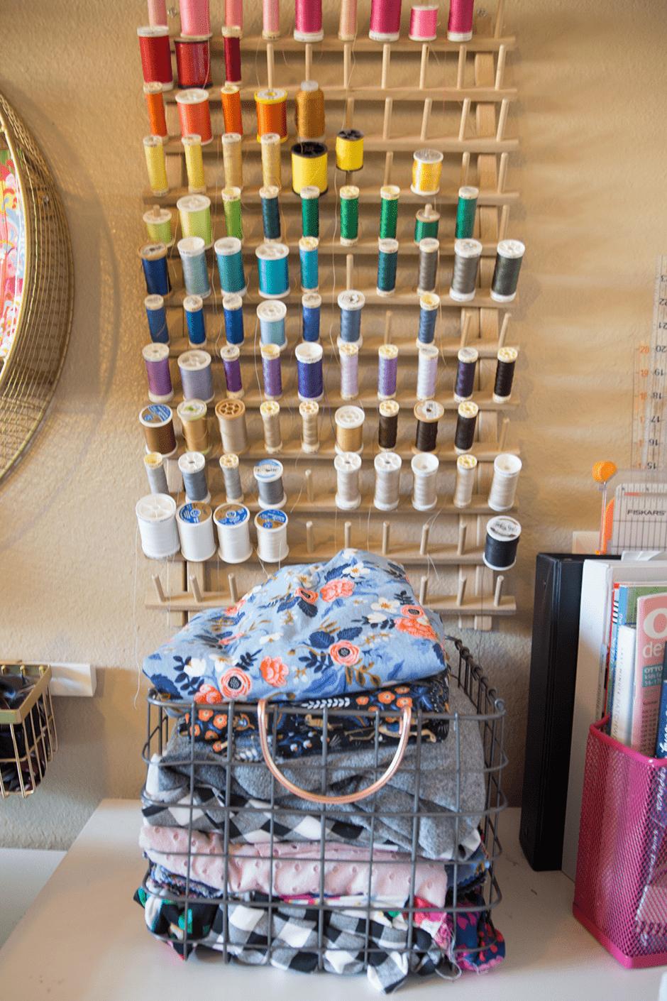 thread sewing organization