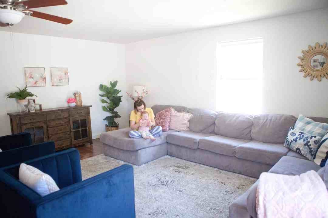 Kid Friendly Living Room Reveal Bonnie And Blithe
