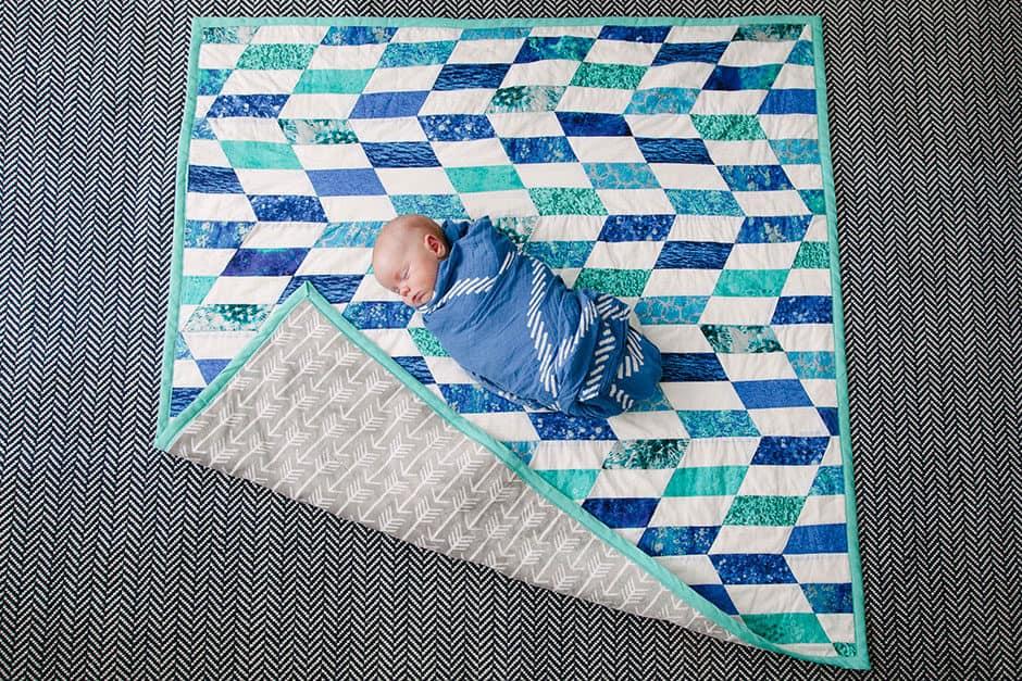 baby boy quilt