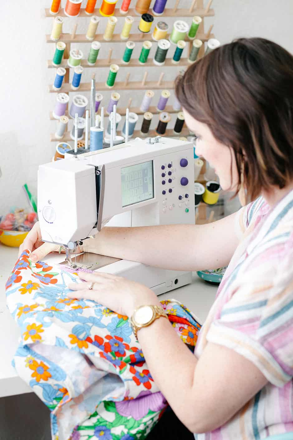 sewing machine project