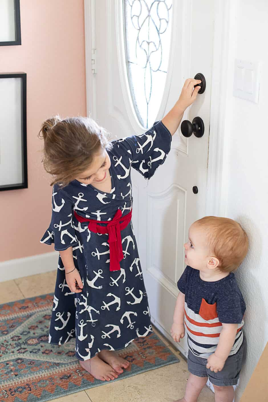 babyproofing the house