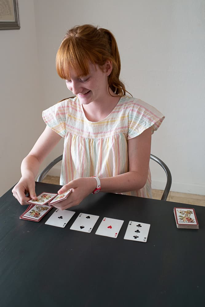 This fun card game is fast-paced, fairly simple to play and crazy addictive. Nertz promises to be your family's new favorite game too!