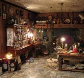 witch witches kitchen room witchy apothecary da witchcraft herb british spell inside bruxa magic cozinha witchery century were they trials