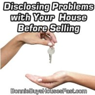 Disclosing Problems with Your Colorado Springs House