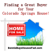 Finding a Great Buyer for Your Colorado Springs House.