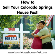 Sell Your Colorado Springs House Fast