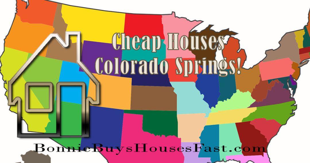 Cheap Houses Colorado Springs