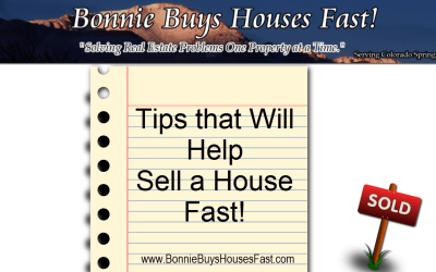 When Selling a House Fast is Important