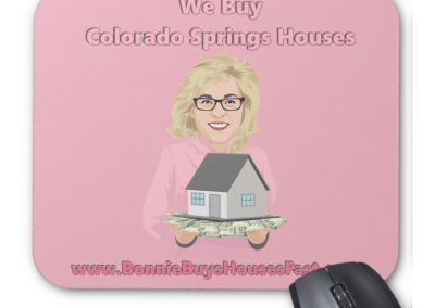 Bonnie Buys Houses Mouse Pad