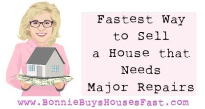 How sell a house fast that needs major repairs in Colorado Springs