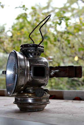 20th century kerosene portable square signal lights