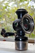 old sol kerosene lamp