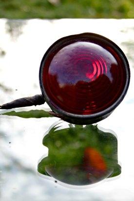1930s tail and license illuminating light